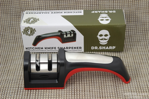 THE SHARPENER FOR KITCHEN KNIVES
