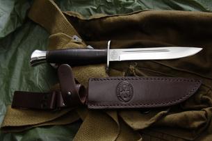 Zlatoust AiR - Finka NKVD leather